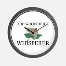 The Woodchuck Whisperer Wall Clock