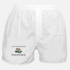 The Woodchuck Whisperer Boxer Shorts