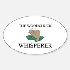 The Woodchuck Whisperer Oval Decal