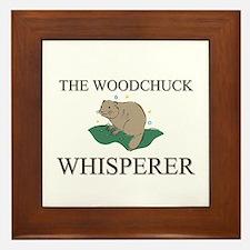 The Woodchuck Whisperer Framed Tile
