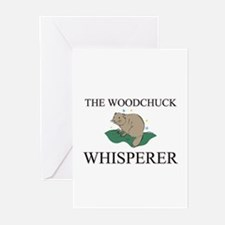 The Woodchuck Whisperer Greeting Cards (Pk of 10)