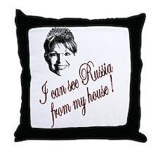 Sarah Can See Throw Pillow