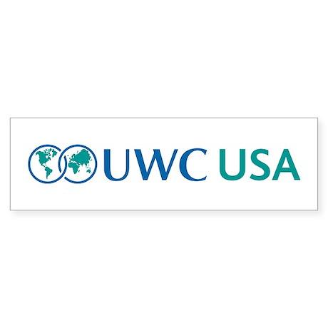 UWC-USA Bumper Sticker