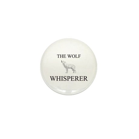 The Wolf Whisperer Mini Button (10 pack)