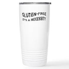 GLUTEN-FREE IT's A NECESSITY Travel Mug