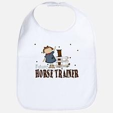 Future Horse Trainer Baby Infant Toddler Bib