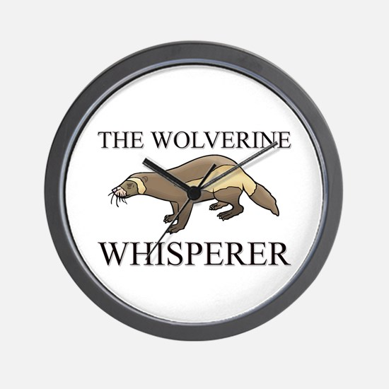 The Wolverine Whisperer Wall Clock