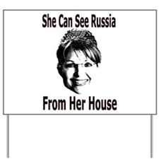 She Can See Yard Sign