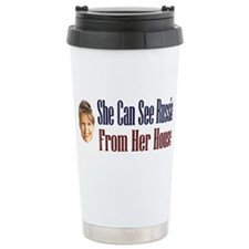 Caps and Mugs Travel Mug