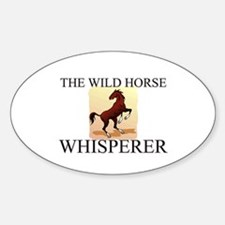 The Wild Horse Whisperer Oval Decal