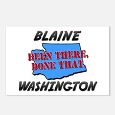 blaine washington - been there, done that Postcard