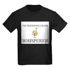 The Whooping Crane Whisperer T