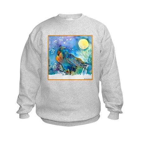 Lunar Raven Kids Sweatshirt