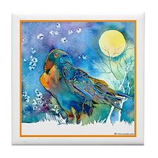 Lunar Raven Tile Coaster