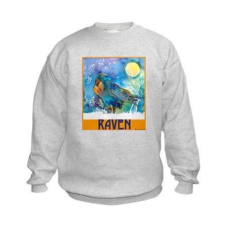 Lunar Raven 2 Kids Sweatshirt