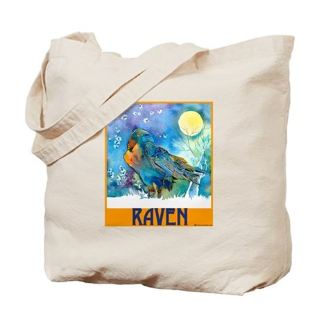 Lunar Raven 2 Tote Bag