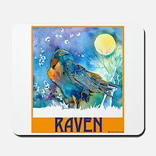 Lunar Raven 2 Mousepad