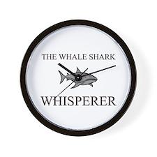 The Whale Shark Whisperer Wall Clock