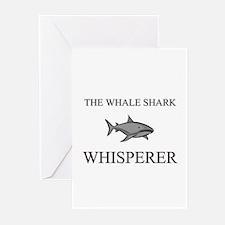 The Whale Shark Whisperer Greeting Cards (Pk of 10