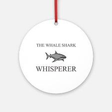 The Whale Shark Whisperer Ornament (Round)