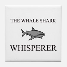 The Whale Shark Whisperer Tile Coaster
