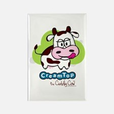 CreamTop the Cuddly Cow Rectangle Magnet
