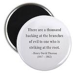 Henry David Thoreau 34 Magnet
