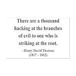 Henry David Thoreau 34 Mini Poster Print