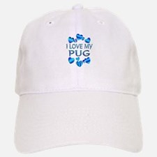 Pug Baseball Baseball Cap