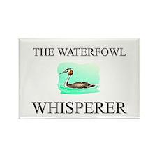The Waterfowl Whisperer Rectangle Magnet (10 pack)