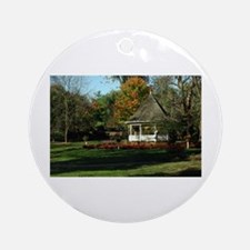 Fall Gazebo Ornament (Round)