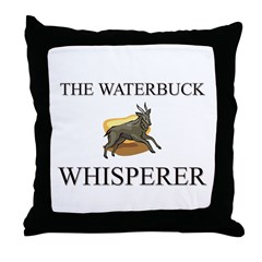 The Waterbuck Whisperer Throw Pillow
