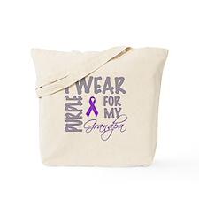 Cute Pancreatic cancer ribbon Tote Bag
