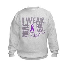 Cute Pancreatic cancer dad Sweatshirt