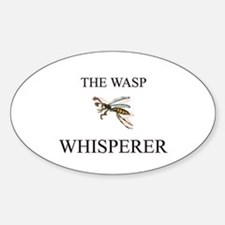 The Wasp Whisperer Oval Decal