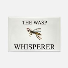 The Wasp Whisperer Rectangle Magnet