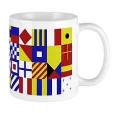 All Naval Flag Code Mug
