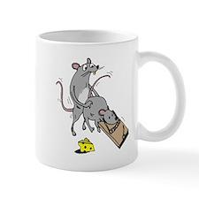 2-Mouse Trap alpha Mugs
