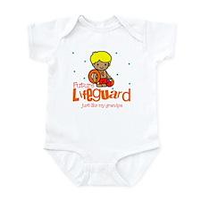 Future Lifeguard like Grandpa Baby Infant Bodysuit
