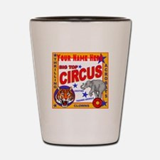 Retro Circus Shot Glass