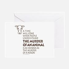 Veganism / Vegetarianism Greeting Card