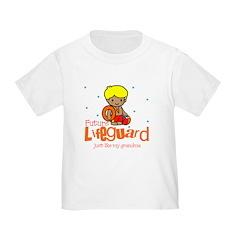 Future Lifeguard like Grandma Baby Toddler T-Shirt