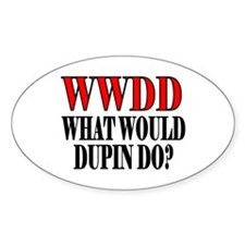 WWDD Oval Decal