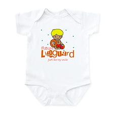 Future Lifeguard like Uncle Baby Infant Bodysuit