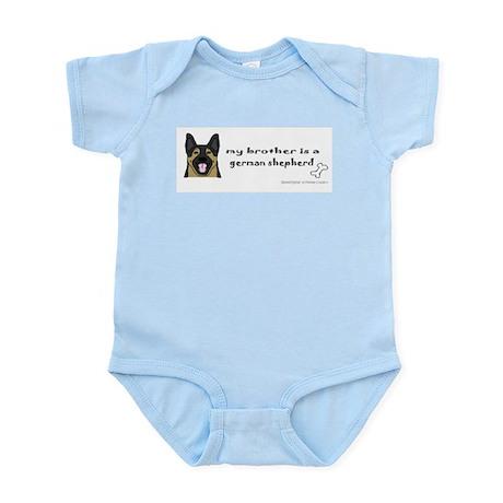 german shepherd gifts Infant Bodysuit