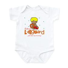 Future Lifeguard like Mommy Baby Infant Bodysuit