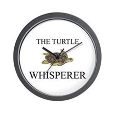 The Turtle Whisperer Wall Clock