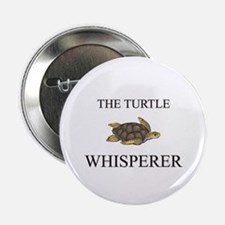 """The Turtle Whisperer 2.25"""" Button (10 pack)"""
