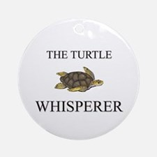 The Turtle Whisperer Ornament (Round)