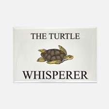 The Turtle Whisperer Rectangle Magnet